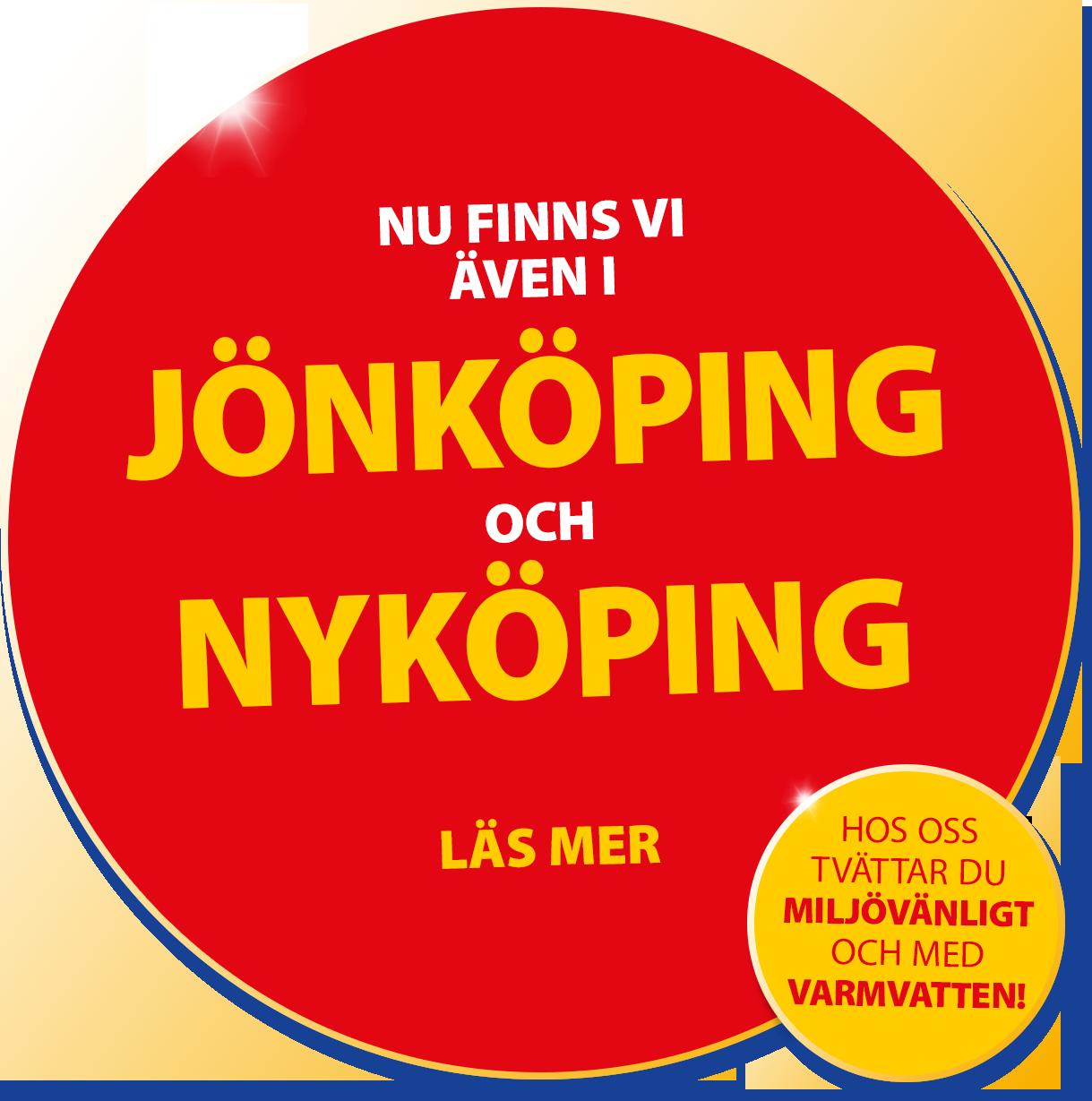 Nu finns vi även i Nyköping och Jönköping